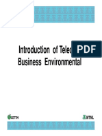 M01 MTMGTITBE0 Introduction of Telecom Business Environment