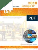Catalogue IAP.DZ 2018