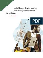 RUT y Domicilio Particular Son Los Datos Personales Que Más Cuidan Los Chilenos