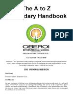 ay 2017-18 a to z handbook of secondary