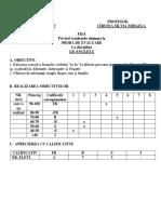 Fisa Interp Rez Teste Clasa a 3-A