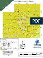Mapa Cantidad de Residuos Peligrosos Por Comuna