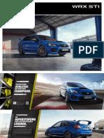 18 Subaru WRX-STI Modellprospekt
