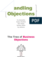 Handling Objections