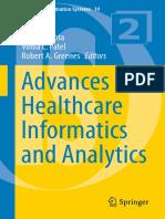(Annals of Information Systems 19) Ashish Gupta, Vimla L. Patel, Robert a. Greenes (Eds.)-Advances in Healthcare Informatics and Analytics-Springer International Publishing (2016)