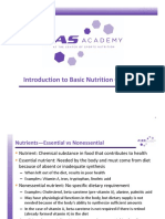 Introduction to Basic Nutrition Concepts ProEd-5!12!2014