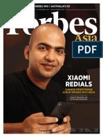 Forbes Asia November 2017