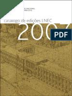 Catalogo LNEC 2007