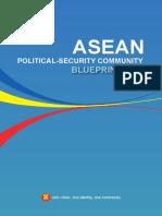 Asean Political-security Community Blueprint 2025