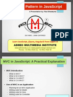 Mvc design pattern in javascript pdf