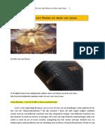 De wet van Mozes en deze van Jezus – 2018