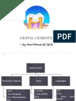 Dental Cements(Hw)