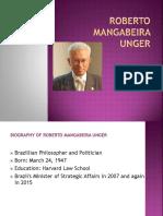 Roberto Mangabiera Unger. PPT