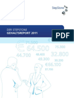 StepStone Gehaltsreport 2011