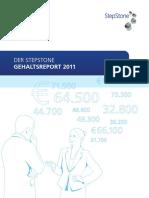 StepStone Gehaltsreport 2011