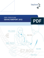 StepStone Gehaltsreport 2012