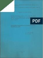 Gasche CNRS-1977 y 1978 Programa de investigacion.