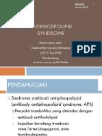 Antiphospolipid Syndrome