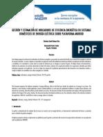Gestión y Estimación de Indicadores de Eficiencia Energética en Sistemas Domésticos