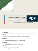 279671_Perencanaan, Sampling dan Mutu Audit.pptx