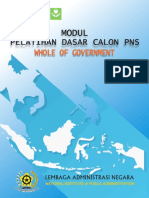 Modul Whole of Government Cetak