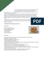 Receptes Monsieur Cuisine
