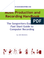 Music Production and Recording Handbook