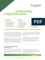 Seven Secrets to Becoming Digital Disruptor