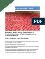 Under Floor Heating Market