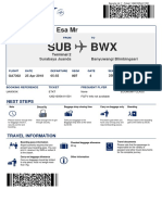 BoardingPass Esa