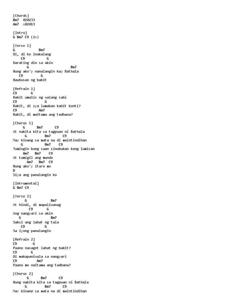 Tagpuan Chords By Moira Dela Torre Ultimate Guitar