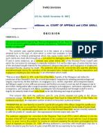 4. Cruz v. CA G.R. No. 122445. November 18, 1997