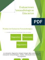 Evaluaciones Fonoaudiologicas