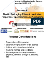 Workshop - Procurement of Packaging for Export (Session