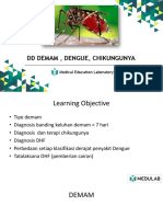[MEDULAB] Materi DD Demam, Dengue, Chikungunya