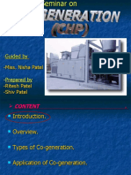 Chp cogeneration