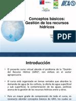 TEMA 1Conceptos Básicos Gestión Integrada de Los Recursos Hídricos.
