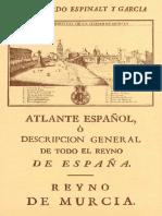 Atlante Espanol Reino de Murcia 0