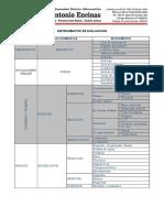 Capacidades e Instrumentos de Evaluacion -2018