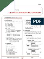 X_2CQ - DESIGUALDADES E INTERVALOS