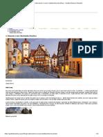 A Alemanha e suas cidades bucólicas