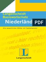 Langenscheidts Basiswortschatz. Niederlandisch