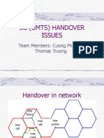 3g Handover Issues