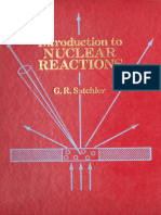 Satchler - Introduction to Nuclear Reactions
