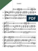 Cintaku - Score and Parts