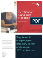 Certification Exam Candidate Handbook