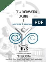 Guía de Autoformación Docente I - Competencias de Autoimplicación