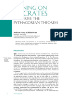 Pythagorean Theorem - 'Socratic Proof'