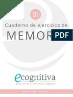 01 Memoria Ecognitiva