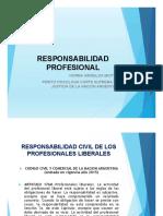 Responsabilidad Profesional. Codigo Civil. 2018
